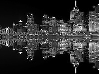 Pittsburgh - Black & White