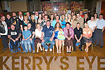 30 CHEERS: Lisa Kerins, Casement's Ave., Tralee (seated centre), having a great time with family and friends at her 30th birthday party held in the Grand Hotel on Friday night.   Copyright Kerry's Eye 2008