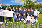 DONATION: Pupils at Ardfert national school who made a EUR519 donation to the oncology unit of Kerry General Hospital from the money the received for their First Holy Communion recently.