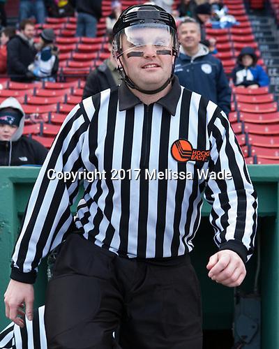 Marc Sullivan - The University of Maine Black Bears defeated the University of Connecticut Huskies 4-0 at Fenway Park on Saturday, January 14, 2017, in Boston, Massachusetts.