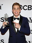 Ben Platt poses at the 71st Annual Tony Awards, in the press room at Radio City Music Hall on June 11, 2017 in New York City.