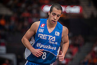 VALENCIA, SPAIN - NOVEMBER 22: Andres Rico during Endesa League match between Valencia Basket Club and Retabet.es GBC at Fonteta Stadium on November 22, 2015 in Valencia, Spain