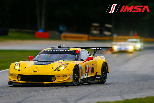 IMSA WeatherTech SportsCar Championship<br /> Continental Tire Road Race Showcase<br /> Road America, Elkhart Lake, WI USA<br /> Friday 4 August 2017<br /> 4, Chevrolet, Corvette C7.R, GTLM, Oliver Gavin, Tommy Milner<br /> World Copyright: Jake Galstad<br /> LAT Images