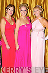Deirdre Sheehy, Mary Foley and Claire Murphy pictured at the charity Ball at the Ballygarry house hotel on New Years eve.
