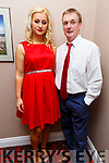 Brian Savage and Kathleen O'Brien taking part in the Ballymac Strictly Love dancing in the Ballygarry House Hotel on Saturday.