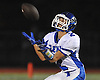 Anthony Tesi #2 of Glenn catches a punt during a Suffolk County Division IV varsity football game against host Babylon High School on Friday, Oct. 21, 2016
