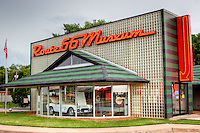 Route 66 Museum in Clinton Oklahoma.