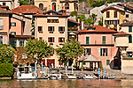 Town of Sala Comacina on Lake Como, Italy
