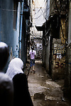 In the small alleys of the palestinian camp of Burj el Barajneh, south of Beirut, Lebanon. <br /> <br /> Dans le d&eacute;dales des ruelles du camp palestinien de Burj El Barajneh, au sud de Beyrouth