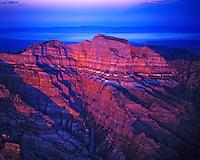 Sunset on Notch Peak, Proposed Notch Peak Wilderness,  Utah
