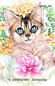 Marie, REALISTIC ANIMALS, REALISTISCHE TIERE, ANIMALES REALISTICOS, paintings+++++,USJO90,#A# ,Joan Marie cat