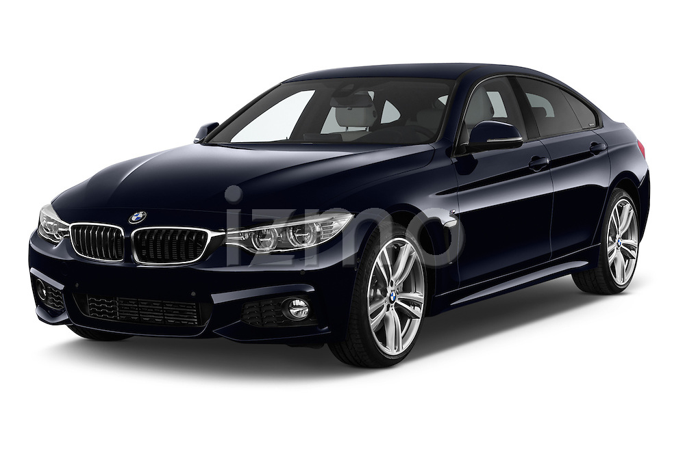2015 BMW SERIES 4 M Sport 2WD AT 5 Door Hatchback 2WD Angular Front stock photos of front three quarter view
