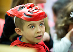A pupil from Ennis Holy Family school enjoying the annual  Clare Champion Halloween Party. Photograph by John Kelly.