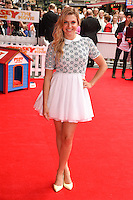 "Anna Williamson arriving for the premiere of ""Pudsey the Dog the movie"" at the Vue cinema, Leicester Square, London. 13/07/2014 Picture by: Steve Vas / Featureflash"