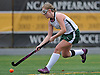 Carle Place No. 14 Elissa Frein controls the ball during the Nassau County varsity field hockey Class C final against Oyster Bay at Adelphi University on Sunday, November 1, 2015. She tallied two goals and two assists in Carle Place's 5-0 win.<br /> <br /> James Escher