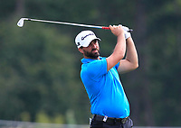 John Parry (ENG) on the 1st fairway during Round 1 of the D+D Real Czech Masters at the Albatross Golf Resort, Prague, Czech Rep. 31/08/2017<br /> Picture: Golffile | Thos Caffrey<br /> <br /> <br /> All photo usage must carry mandatory copyright credit     (&copy; Golffile | Thos Caffrey)