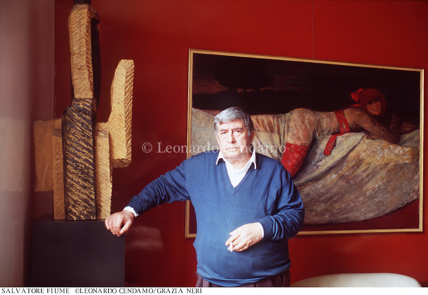1993: Salvatore FIUME © Leonardo Cendamo