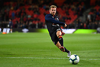 Ryan Fraser of AFC Bournemouth in the warm up during AFC Bournemouth vs Crystal Palace, Premier League Football at the Vitality Stadium on 1st October 2018