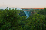 View from Victoria Falls Hotel, Zimbabwe