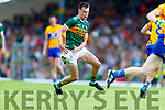 Jack Barry Kerry in action against  Clare during the Munster GAA Football Senior Championship semi-final match between Kerry and Clare at Fitzgerald Stadium in Killarney on Sunday.