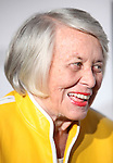 Liz Smith.attending the Opening Night Performance of 'The Mountaintop' at the Bernhard B.  Jacobs Theatre in New York City.