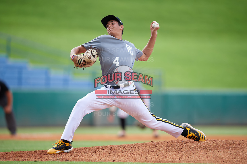 Gage Jump (4) of JSerra Catholic High School in Aliso, CA during the Perfect Game National Showcase at Hoover Metropolitan Stadium on June 17, 2020 in Hoover, Alabama. (Mike Janes/Four Seam Images)