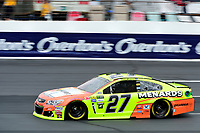 July 15, 2017 - Loudon, New Hampshire, U.S. - Paul Menard, Monster Energy NASCAR Cup Series driver of the Sylvania / Menards Chevrolet (27), runs in the NASCAR Monster Energy Overton's 301 final practice round held at the New Hampshire Motor Speedway in Loudon, New Hampshire. Larson placed first in the qualifier. Eric Canha/CSM