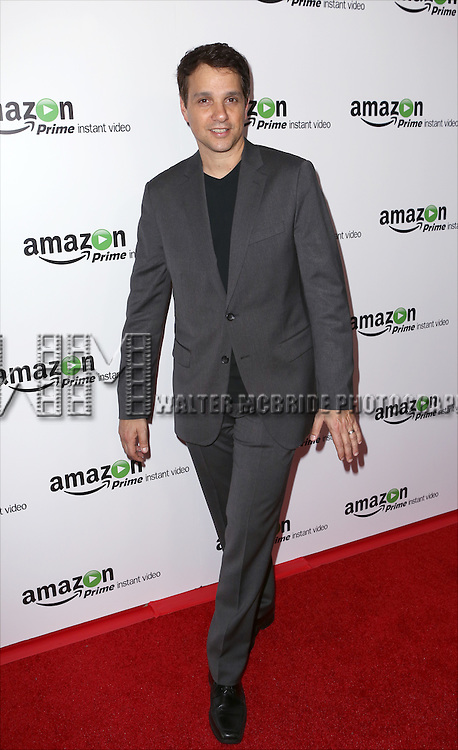 Ralph Macchio attending the Amazon Red Carpet Premiere for 'Mozart in the Jungle' at Alice Tully Hall on December 2, 2014 in New York City.