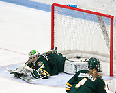 Madison Litchfield (UVM - 30) -  The Boston College Eagles defeated the University of Vermont Catamounts 4-3 in double overtime in their Hockey East semi-final on Saturday, March 4, 2017, at Walter Brown Arena in Boston, Massachusetts.