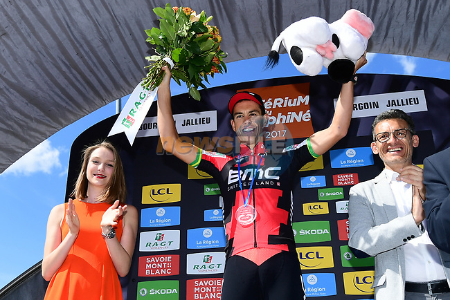 Richie Porte (AUS) BMC Racing Team wins Stage 4 of the Criterium du Dauphine 2017, an individual time trial running 23.5km from La Tour-du-Pin to Bourgoin-Jallieu, France. 7th June 2017. <br /> Picture: ASO/A.Broadway | Cyclefile<br /> <br /> <br /> All photos usage must carry mandatory copyright credit (&copy; Cyclefile | ASO/A.Broadway)