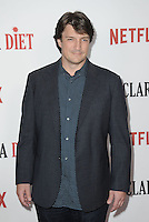 www.acepixs.com<br /> <br /> February 1 2017, LA<br /> <br /> Nathan Fillion arriving at the premiere Of Netflix's 'Santa Clarita Diet' at the ArcLight Cinemas Cinerama Dome on February 1, 2017 in Hollywood, California<br /> <br /> By Line: Peter West/ACE Pictures<br /> <br /> <br /> ACE Pictures Inc<br /> Tel: 6467670430<br /> Email: info@acepixs.com<br /> www.acepixs.com