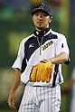 Ryosuke Kikuchi (JPN),<br /> NOVEMBER 15, 2014 - Baseball : <br /> 2014 All Star Series Game 3 between Japan 4-0 MLB All Stars <br /> at Tokyo Dome in Tokyo, Japan. <br /> (Photo by Shingo Ito/AFLO SPORT)[1195]