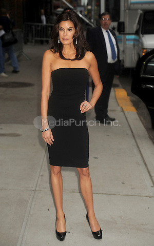 Teri Hatcher at The Ed Sullivan Theatre for an appearance on The Late Show with David Letterman in New York City. May 14, 2009. Credit: Dennis Van Tine/MediaPunch