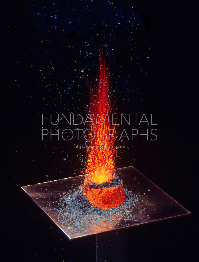 AMMONIUM DICHROMATE OXIDATION -VOLCANO EFFECT (2 of 4)<br />