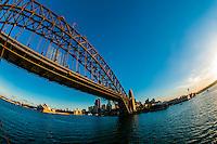 Sydney Harbour Bridge, Sydney, New South Wales, Australia