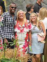 Ben Ofoedu, Vanessa Feltz &amp; Saskia Kurer at the &quot;The BFG&quot; UK film premiere, Odeon Leicester Square cinema, Leicester Square, London, England, UK, on Sunday 17 July 2016.<br /> CAP/CAN<br /> &copy;CAN/Capital Pictures /MediaPunch ***NORTH AND SOUTH AMERICAS ONLY***