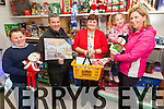 Staff at Dalys Expert Hardware & Gala store in Murreigh showing customers some of the wonderful Christmas decorations pictured l-r; Sean Daly, Noel O'Sullivan, Mary Dineen, Clíona & Teresa O'Sullivan.