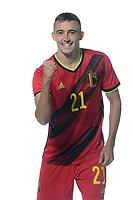 Timothy Castagne defender of Belgium  <br /> Tubize 12/11/2019 <br /> Calcio presentazione della nuova maglia della Nazionale del Belgio <br /> Photo De Voecht  Kalut/Photonews/Panoramic/insidefoto<br /> ITALY ONLY