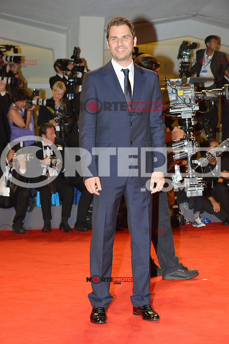 VENICE, ITALY - AUGUST 30: Actor Ariel Vromen attends 'The Iceman' Premiere during the 69th Venice International Film Festival at Palazzo del Casino on August 30, 2012 in Venice, Italy AFG / Mediapunchinc