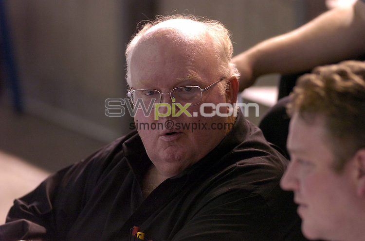 Pix: Ben Duffy/SWpix.com...British Swimming Olympic trials, Sheffield-Day 3........09/03/2004..British swimmings Performance director, Bill Sweetenham pictured at the Olympic trials in Sheffield..?COPYRIGHT PICTURE>>SIMON WILKINSON>>08700920092>>.
