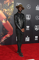 LOS ANGELES, CA - NOVEMBER 13: Gary Clark Jr., at the Justice League film Premiere on November 13, 2017 at the Dolby Theatre in Los Angeles, California. Credit: Faye Sadou/MediaPunch