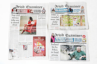 NEWS PAPER TEAR SHEETS