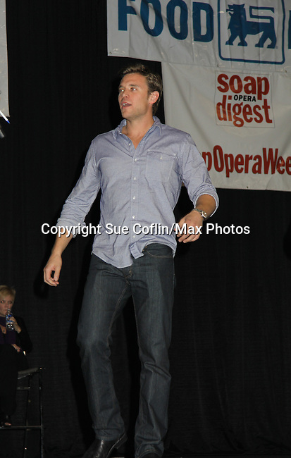Young and Restless Billy Miller at the Soapstar Spectacular starring actors from OLTL, Y&R, B&B and ex ATWT & GL on November 20, 2010 at the Myrtle Beach Convention Center, Myrtle Beach, South Carolina. (Photo by Sue Coflin/Max Photos)