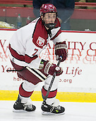 Danny Fick (Harvard - 7) - The Harvard University Crimson defeated the visiting Bentley University Falcons 3-0 on Saturday, October 26, 2013, in Harvard's season opener at Bright-Landry Hockey Center in Cambridge, Massachusetts.
