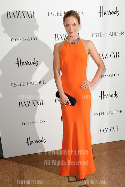 Emily Blunt arriving for the Harper's Bazaar Women of the Year Awards 2012 at Claridge's Hotel, London. 31/10/2012 Picture by: Steve Vas / Featureflash