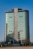 The Dreeftoren tower in Amsterdam (Holland, 17/04/2011)
