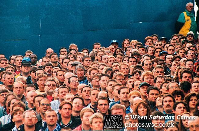 Chelsea fans<br /> (Exact date tbc). Photo by Tony Davis