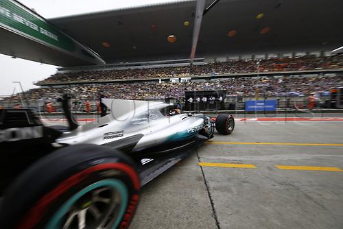 8th April 2017, Shanghai Circuit, Shanghai, China; Chinese Grand Prix Qualifying;  <br /> #44 Lewis Hamilton (GBR, Mercedes AMG Petronas)