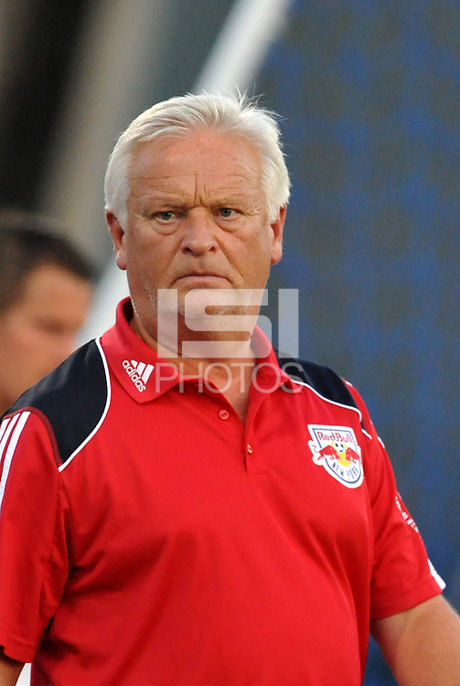 Hans Backe...Kansas City Wizards were defeated 3-0 by New York Red Bulls at Community America Ballpark, Kansas City, Kansas.