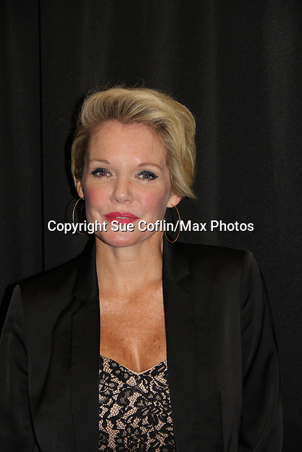 "General Hospital's actor Maura West ""Ava Jerome"" on October 5, 2019 at the Hollywood Casino, Columbus, Ohio with a Q & A and a VIP meet and greet. (Photo by Sue Coflin/Max Photo)"